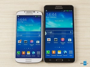Samsung Galaxy Note 3 Samsung Galaxy S4 - Android 4.4 KitKat